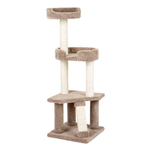 Kitty Tree House with Scratcher