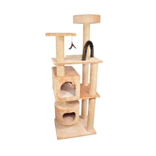 Kitty Jungle Gym - Beige