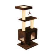 Kitty Apartment with Square Top – Brown