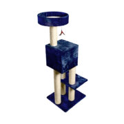 Kitty Fun Tower with Hideout - Blue