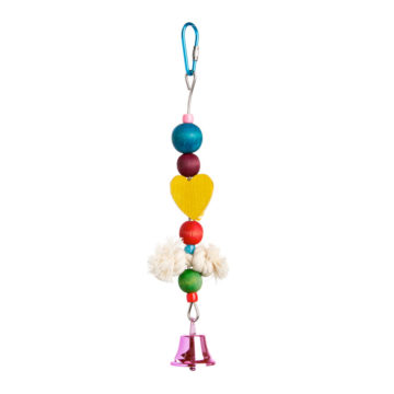 Toy with Spool, Bead, Bell